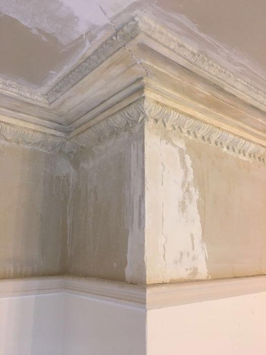 dwardian house restoring original cornice