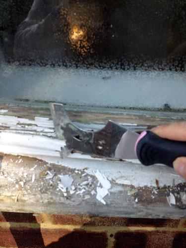 Exterior decoration window renovation
