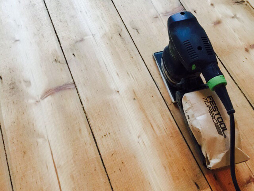 St Albans wooden floor restoration
