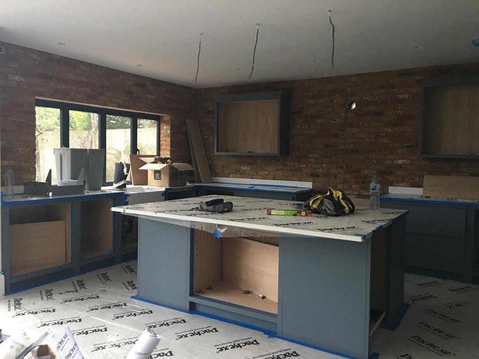 Hand Painted Kitchen